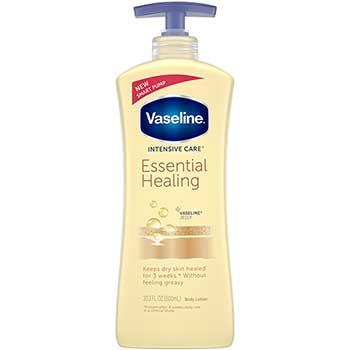 Vaseline® Total Moisture Dry Skin Lotion w/Vitamin E, 20.3oz, Pump Bottle