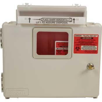 Unimed-Midwest 5 Qt Locking Wall Mount Unit