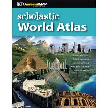 K® Kappa Map™ Scholastic World Atlas
