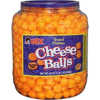 Utz® Snack Tubs, Cheeseballs