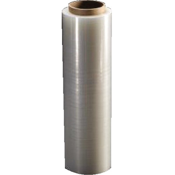 "Cast Hand Stretch Film, 18"" x 1500ft, 80 Gauge, Clear, 4 RL/CS"