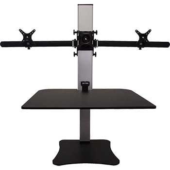 Victor® DC475 Electric Triple Monitor Standing Desk