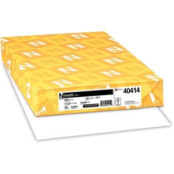 "Neenah Paper Exact Index Card Stock, 110 lb./199 gsm., 11"" x 17"", White, 250 SHTS/PK"