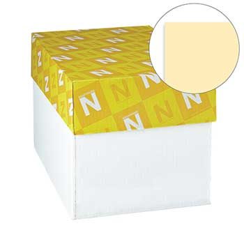 """Neenah Paper Exact Index Card Stock, 90 lb./163 gsm., 8 1/2"""" x 11"""", Ivory, 2000 SHTS/CT"""