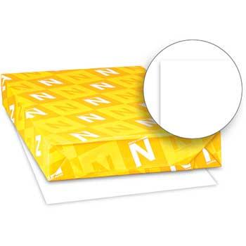 "Neenah Paper Exact Vellum Bristol Cover Stock, 67 lb./147 gsm., 11"" x 17"", White, 92 Bright, 250 SHTS/PK"