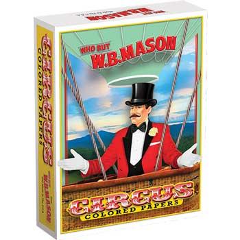Circus® Colors Colored Paper, 20 lb., 8 1/2 x 11, Green, 500/RM