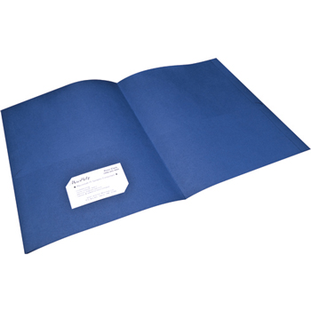 Two-Pocket Portfolios, Dark Blue, 25/BX