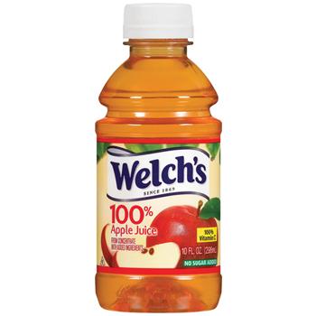 100% Apple Juice, 10 oz. Bottle, 24/CS