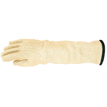 """Wells Lamont Industrial Gloves, Kelklave Autoclave Gloves, Extended 11"""" Cuff, Terry Cloth, White, Large"""