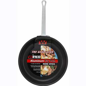 "Winco® 14"" Alu Fry Pan, Gladiator, Excalibur Non-stick"