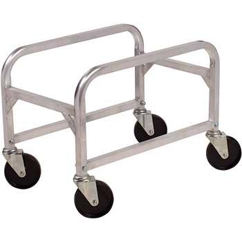 Winco® Aluminum Lug Box Cart