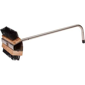 "Wire Oven Brush, Dual Headed, 26 1/2"" Handle"