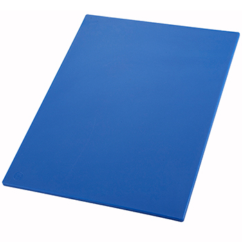"Winco® Cutting Board, 18"" x 24"" x 1/2"", Blue"