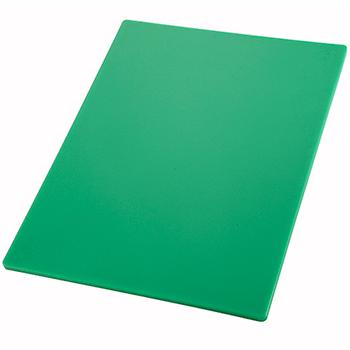 "Winco® Cutting Board, 12"" x 18"" x 1/2"", Green"