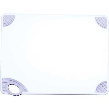 "Winco® Staygrip Cutting Board, 12"" x 18"" x 1/2"", White"