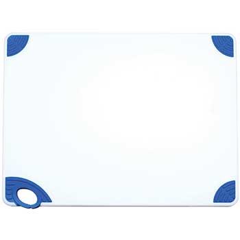 """Winco® Staygrip Cutting Board, 18"""" x 24"""" x 1/2"""", Blue"""