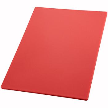 "Cutting Board, 18"" x 24"" x 1/2"", Red"