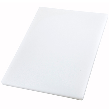 "Winco® Cutting Board, 18"" x 24"" x 1"", White"