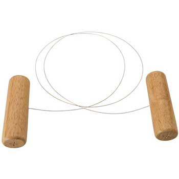 """Cheese Slicer, 44"""" Wire, Wooden Hdl"""""""