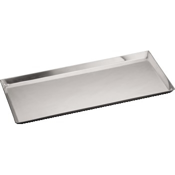 """Long Serving Tray, Stainless Steel, 14 1/8"""" x 7 1/2"""""""