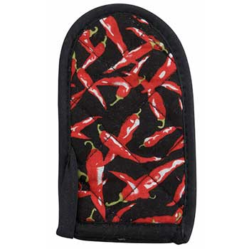 Winco® Handle Holder, Chili Peppers, Cotton