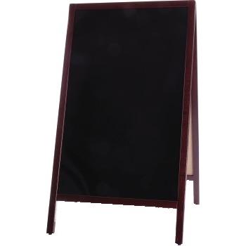 "Winco® Natural Wood A Frame Marker Board, 39"""" x 20 3/8"""""