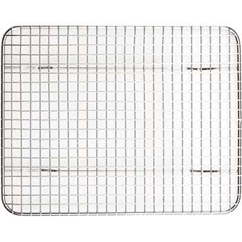 """Winco® Pan Grate for Half-Size Steam Pan, 8"""" x 10"""", Stainless Steel"""