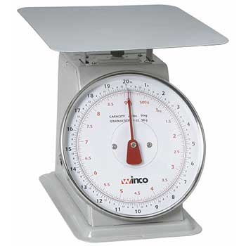 "20Lbs Receiving Scale, 8"" Dial"