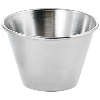 Sauce Cups, Stainless Steel, 4 oz., DZ