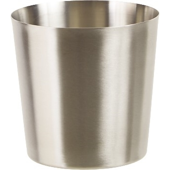 """Winco® Stainless Steel Fry Cup, Satin Finish, Solid, 3.25"""" dia."""