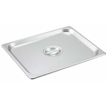 Winco® S/S Steam Pan Cover, Half-size, Solid