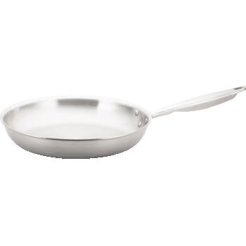 """Winco® Tri-Gen™ Tri-Ply Stainless Steel Fry Pan, 12"""""""
