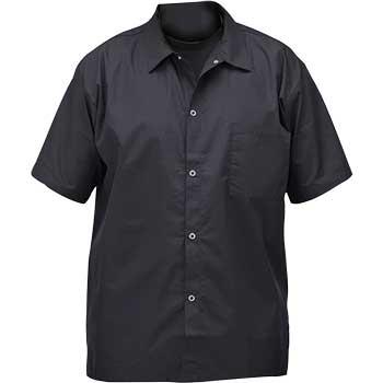 Winco® Chef Shirt, Black, Medium