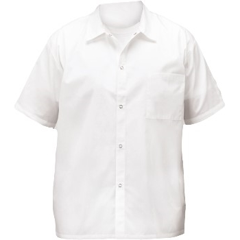 Winco® Chef Shirt, White, Large