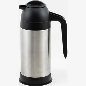Winco® 24 oz. Stainless Steel Vacuum Insulated Coffee/Cream Server