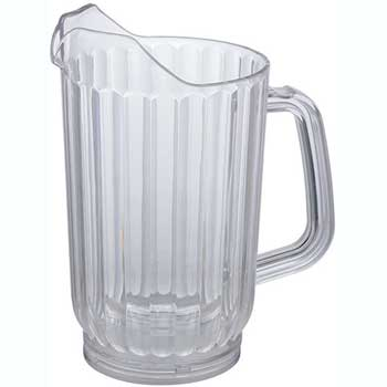Winco® 32 oz.  Water Pitcher, Clear