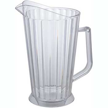 Winco® 60 oz.  Beer Pitcher, Clear