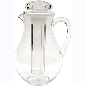 Winco® 64 oz. Pitcher with Ice Tube Core