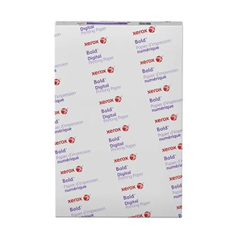 """Xerox® Bold™ Digital Printing Paper, 30% Recycled, 100 lb. Cover, 17"""" x 11"""", White, 750/CT"""