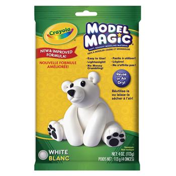 Crayola® Model Magic, 4 oz. Pouch, White