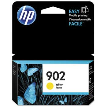 HP 902 Ink Cartridge, Yellow (T6L94AN)