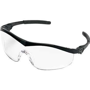 MCR™ Safety ST1 Series, Black Frame, Clear Anti Fog Lens