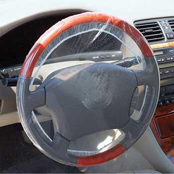 Steering Wheel Covers, Shower Cap Design, Full Cover, 500/BX