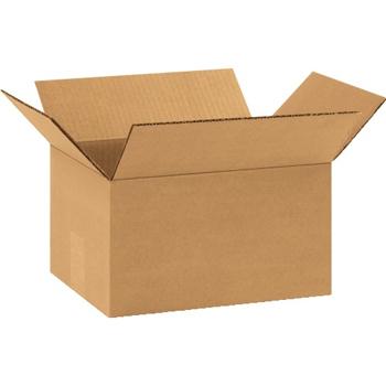 """W.B. Mason Co. Corrugated boxes, 11 1/4""""  x 8 3/4"""" x 6"""", Kraft, 25/BD"""