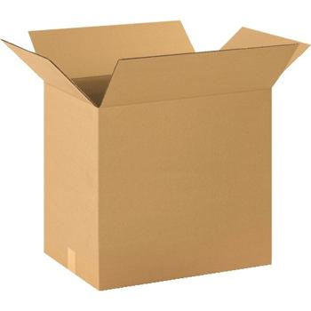 """W.B. Mason Co. Corrugated boxes, 20"""" x 14"""" x 18"""", Kraft, 20/BD"""