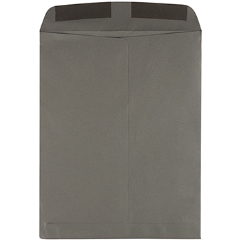 "JAM Paper® Open End Catalog Premium Envelopes, 10"" x 13"", Dark Grey, 50/PK"
