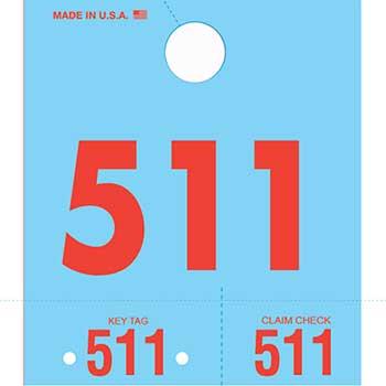 W.B. Mason Auto Supplies Service Dispatch Numbers, Blue, 3D-NR, 000-999, 1000/BX