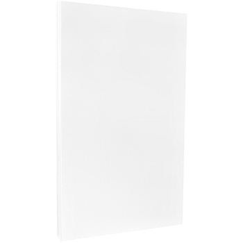 """Legal Cardstock, 80 lb., Glossy 2 Sided, 8 1/2"""" x 14"""", White, 250/BX"""