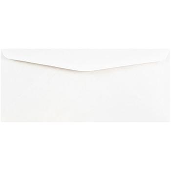 """JAM Paper #10 Business Commercial Envelopes, 4 1/8"""" x 9 1/2"""", White, 250/BX"""