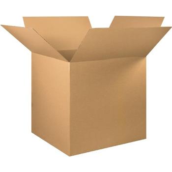 """Corrugated boxes, 36"""" x 36"""" x 36"""", Kraft, 5/BD"""